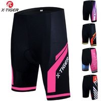 X Tiger Bicycle Cycling Shorts Women 3D Silica Gel Padded Shockproof MTB Mountain Bike Shorts Underwear