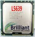 Бесплатный shpping для Intel Xeon L5639 Шестиядерных 2.13 ГГц 12 МБ 5.86GT/s SLBZJ ПРОЦЕССОР LGA 1366 процессор