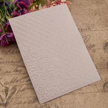 DIY Scrapbooking Plastic Embossing Folder Stencil for Photo Album Paper Cards Decorative Template Stamp Sheet(China)