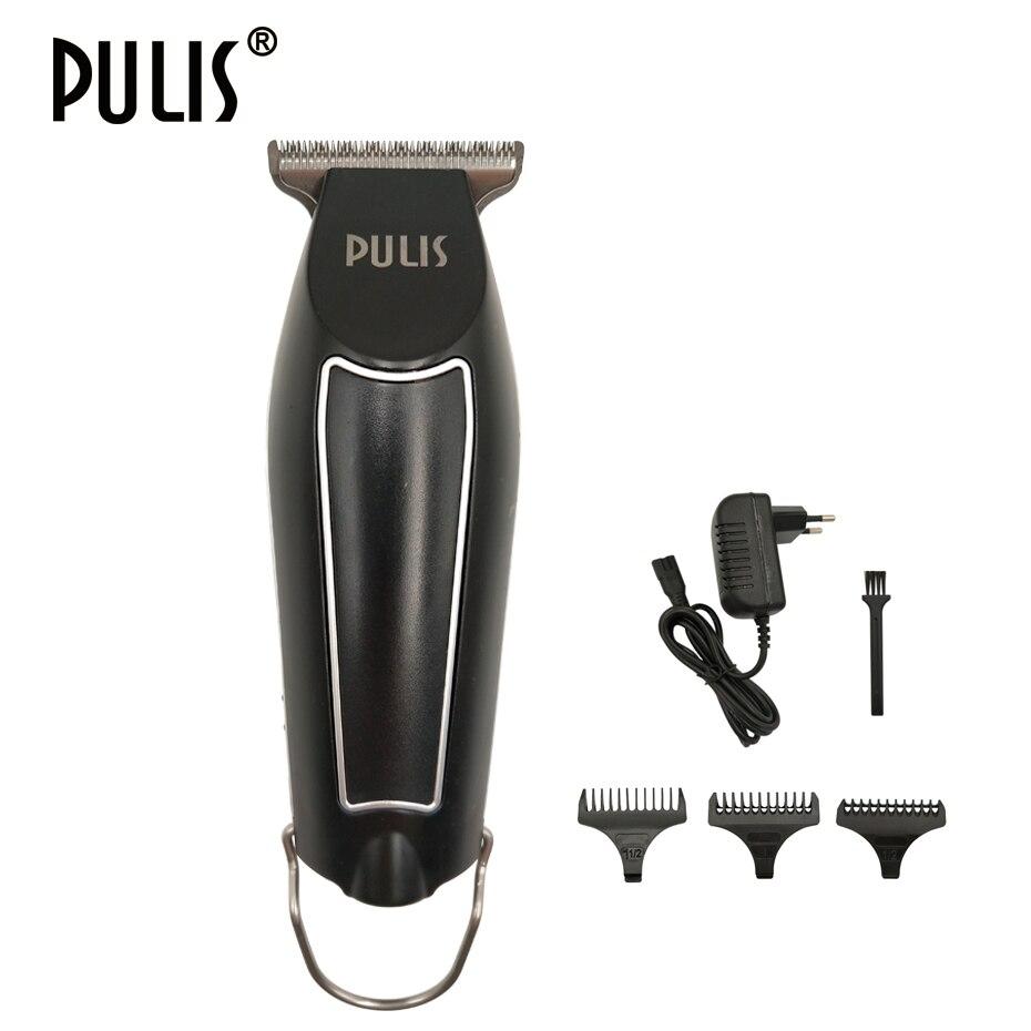 PULIS Cheveux Tondeuse Professionnelle Électrique Rechargeable Hommes Cheveux Tondeuse Accueil Coiffeur Chauve Tête Machine de Rasage Soins Personnels Outil