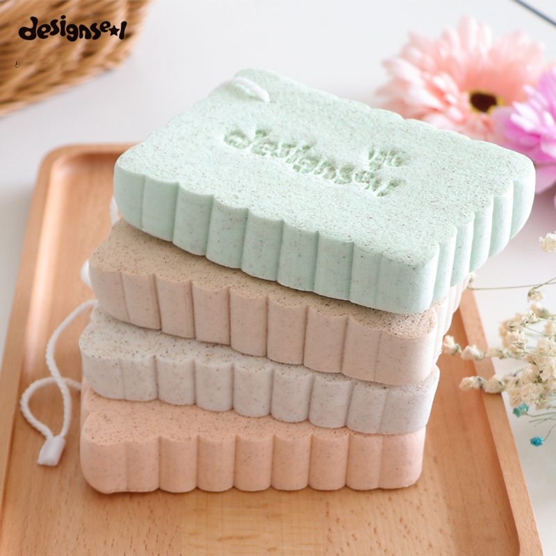 Face Cleansing Sponge Puff Super Soft Comfortable Cleaning Flutter Cosmetic Puff Women Facial Wash Beauty Makup Massage Tools