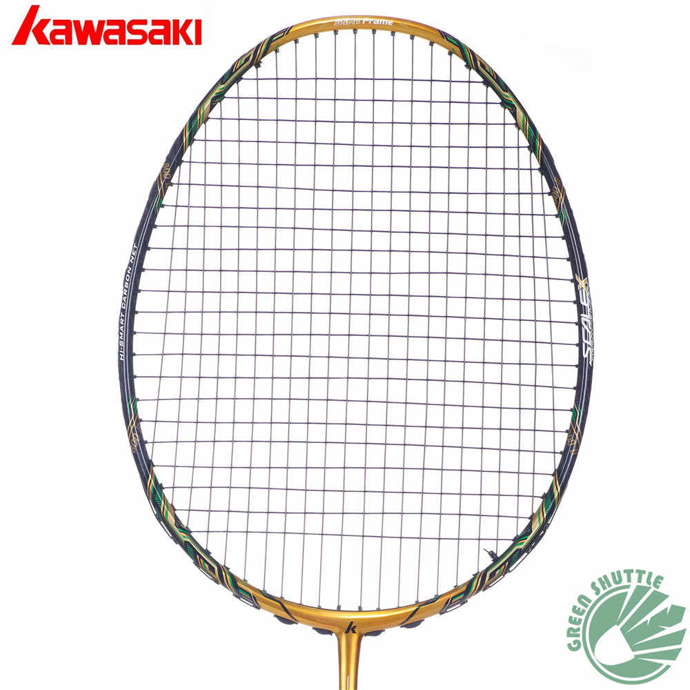 2018 Five Star 100% Original Kawasaki Top Quality Badminton Racket Professional Force Carbon Fiber Raquette Badminton