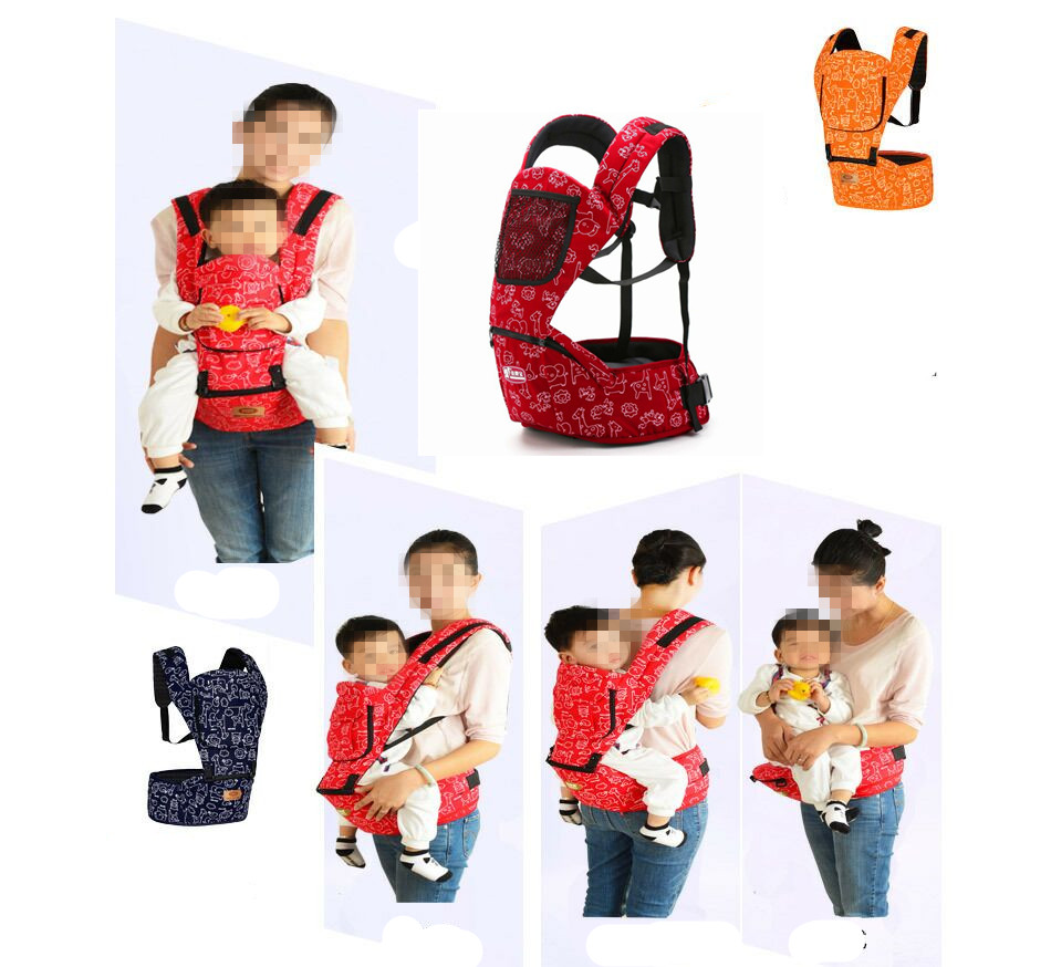 Baby carrier baby waist stool sitting multi-function portable sling wrap ergonomic carriers 0-48M