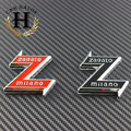 2 pcs Preto branco Novo 74mm 7.4 cm ALFA ROMEO emblema Logotipo Do Carro Emblema adesivo para ALFA ROMEO Mito 147 156 159 166 Giulietta Aranha GT