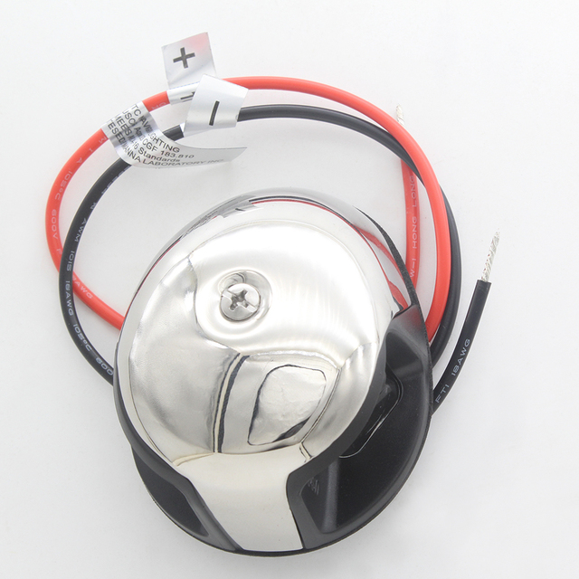 Marine Boat Yacht LED Bi color Navigation Light 1 Nautical Mile Stainless Steel Port Light Starboard Light from ITC