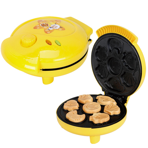 Free shippingStainless steel 220V Cake Machine/ Cartoon Waffle maker Cake machine .Pizza machine . Pancakes 26 nanjing province specialty wheat cake gold flower cake sesame cake fuling horseshoe crisp cake optional