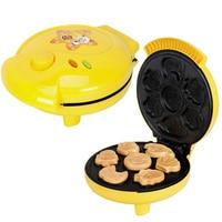 Free shippingStainless steel 220V Cake Machine/ Cartoon Waffle maker Cake machine .Pizza machine . Pancakes