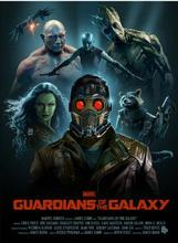Guardians of the Galaxy Movie art silk Poster