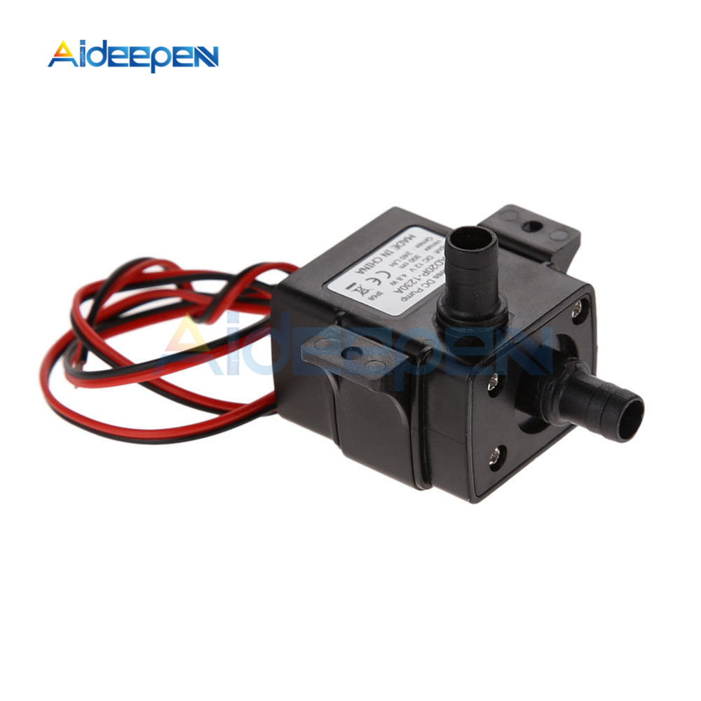 Mini DC12V 5W 240L//H Brushless Motor Submersible Water Pump Home Fish Pond
