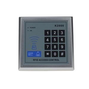 Image 2 - סט שלם של RFID דלת בקרת גישה מערכת ערכת סט עם מנעול RFID לוח מקשים + כוח + מנעול מגנטי + דלת יציאה + מפתחות משלוח חינם
