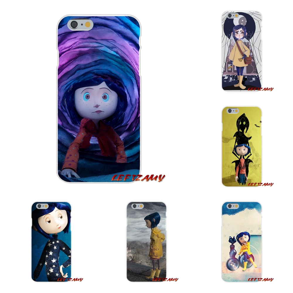 Accessories Phone Shell Covers For Coraline Vintage For Samsung Galaxy S3 S4 S5 MINI S6 S7 edge S8 S9 Plus Note 2 3 4 5 8