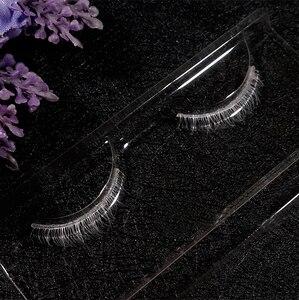 Image 1 - White Lower Bottom Eyelashes Cross False Eye Lashes Makeup