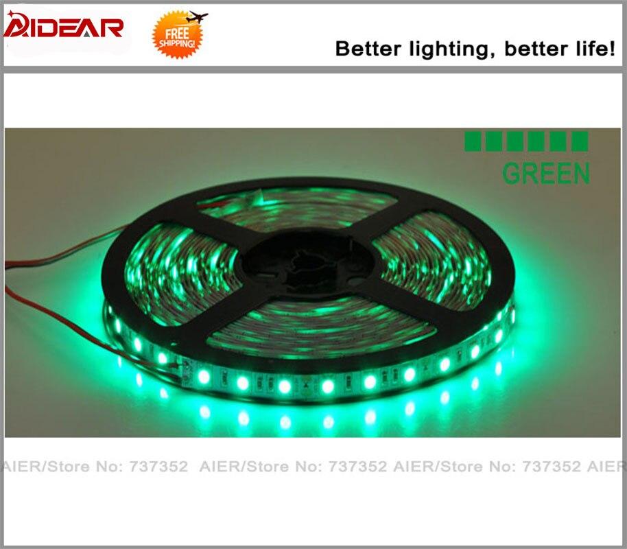 Led Strip Light SMD 5050 WaterProof 12V IP65 300LED / 5M 5M / ROLL, - LED Жарықтандыру - фото 2