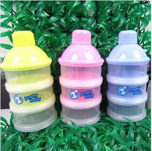 2017 solid abs latex free nitrosamine free new sale baby powder milk box storage 3 boxes/lot newborn food container products