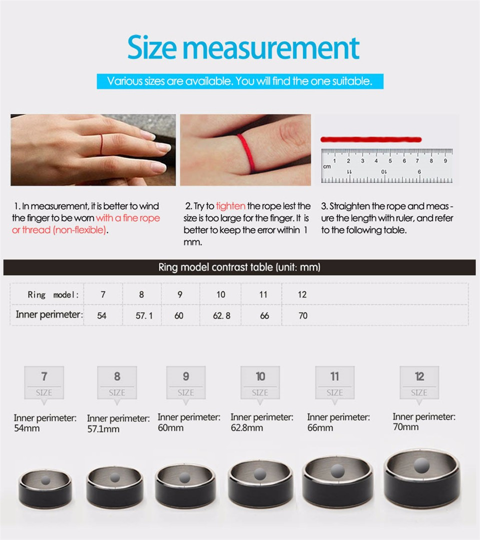 Jakcom R3F Smart Ring For High Speed NFC Electronics Phone Smart Accessories 3-proof App Enabled Wearable Technology Magic Ring 21
