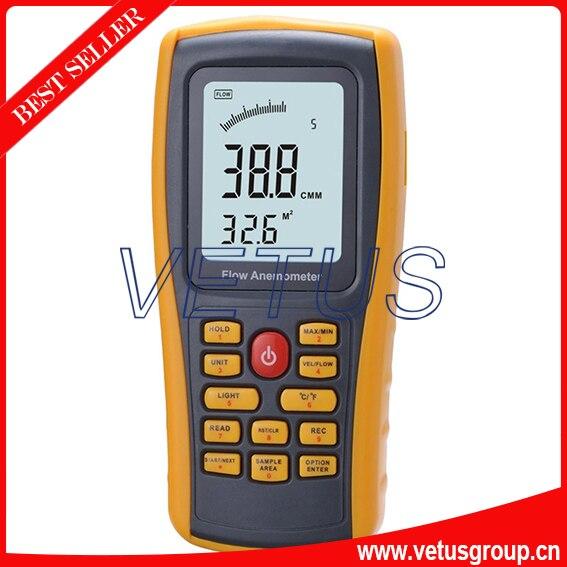 GM8902 Handheld Anemometer, wind speed meter with range 0.3~45m/s  цены
