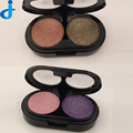 2016 Natural Two Colors Eyeshadow Glitter Palette Professional Bright Smokey Cosmetic Eye Shadow Matte Makeup 2HY20