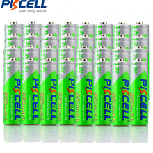 32PCS PKCELL AAA batterie 850mah 1,2 v NIMH AAA akkus aaa niedrigen selbst entladen batteria