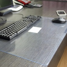 Transparent desk mat Korean version Writing pad Computer Soft glass pvc tablecloths custom Student tablecloth