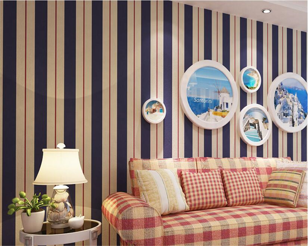 beibehang papel de parede Fashion nonwovens living room bedroom 3d wallpaper simple TV background wall vertical stripes tapety beibehang papel de parede 3d wallpaper vertical stripes modern minimalist bedroom living room sofa tv background 3d wall paper