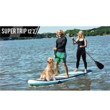 Aqua Marina Super Trip 122 BT-18S inflatable surfboard  surf board stand up paddle boat kayaK