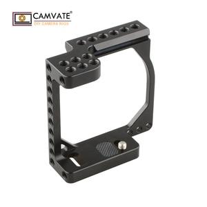 Image 1 - CAMVATE kamera kafesi çerçeve A6000/A6300/A6400/A6500 ve Eos M/M10 C1850 kamera fotoğraf aksesuarları