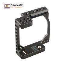 Cadre de Cage de caméra CAMVATE pour accessoires de photographie dappareil photo A6000/A6300/A6400/A6500 & Eos M/M10 C1850