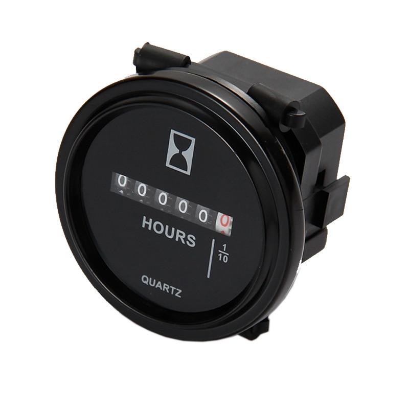 Mechanical Hour Meter Counter TIMER Hourmeter For Generator Diesel Gasoline Petrol Engine DC 8V 12V 24V 36V 48V 72V 80V TK0285