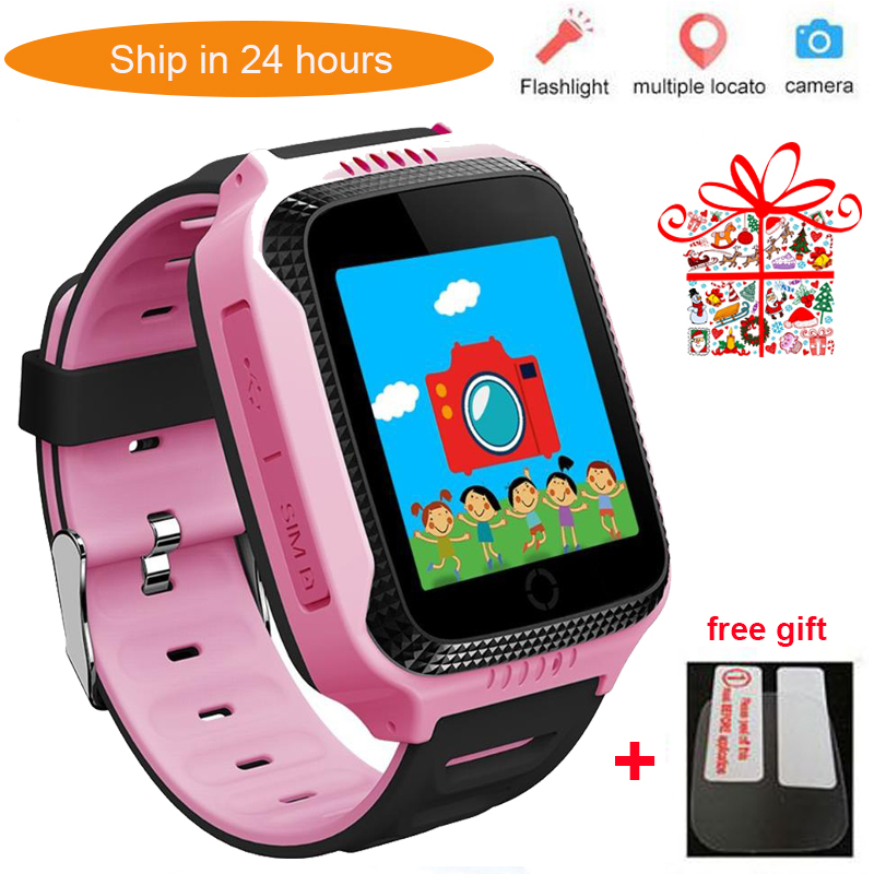 Ship from Russia Q528 Y21 Touch Screen GPS Child Smart