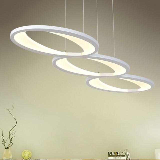 50W original and unitary design pendant light Modern Kitchen acrylic suspension hanging lamp design for dinning room