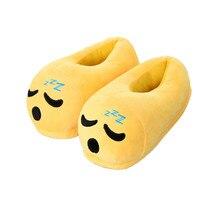 Neue Emoji Hausschuhe Cartoon Plüsch Pantoffel Hause Mit Dem Vollen Ausdruck Frauen/Männer Hausschuhe Winter Haus Schuhe 1 para