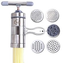 цена на Kitchen Gadgets Stainless Steel Household Small Manual Pasta Machine Noodle Maker  Machine Manual Noodles