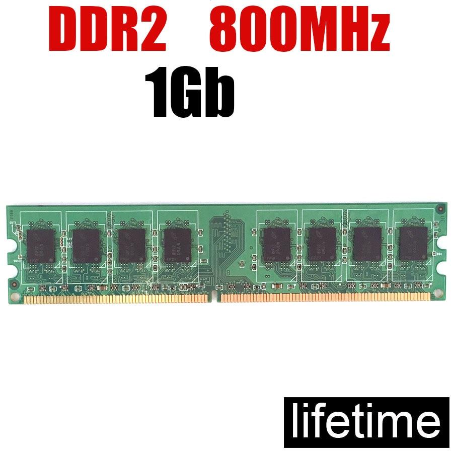 1Gb RAM DDR2 800 1Gb 2Gb 4Gb DDR 1 Gb / DIMM PC Memoria RAM 1Gb Memory Ddr2 800MHz 8G 4G 2G 1G 667MHZ ( For Intel & For Amd )