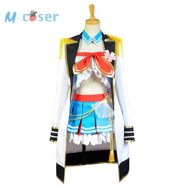 LoveLive Sailor Costume Love Live Kosaka Honoka Navy Uniform Girls Marine Anime Halloween Cosplay Costumes For Women Full set