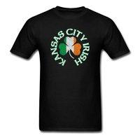 Kansas City Irish Shamrock Flag Apparel St Pat S Men S T Shirt Tee Shirt Hipster