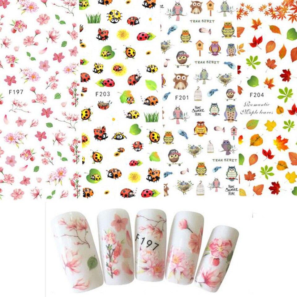 Переводная картинка для ногтей