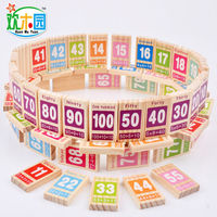 free-shipping-kids-wooden-100pcs-dominoes-blocks-digital-addition-subtraction-teaching-aid-block-baby-wood-block-domino-toy-gift