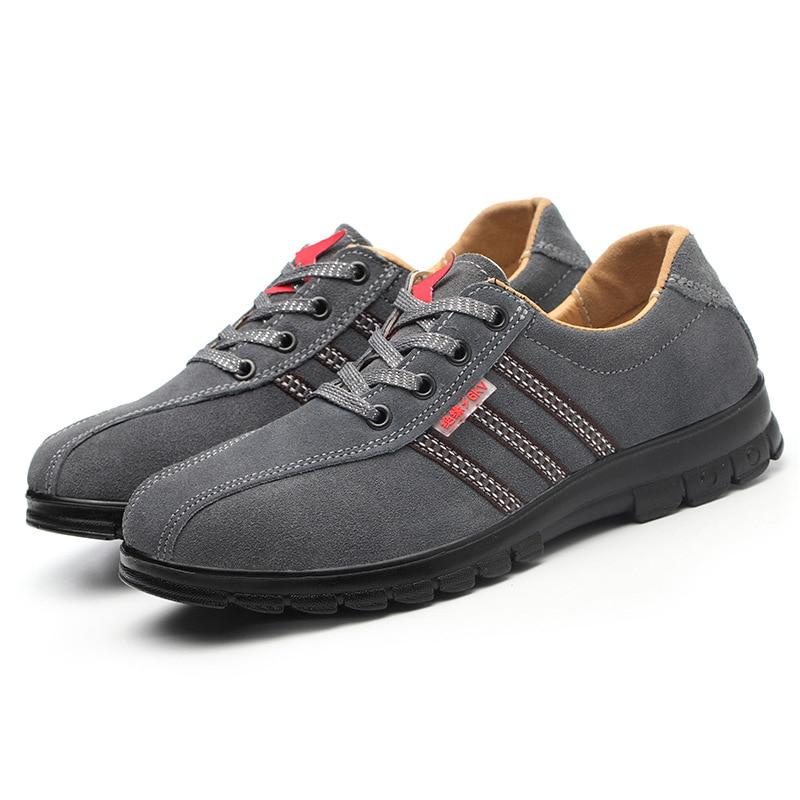 Seguridad Gris Piel Gamuza Vaca Zapatos Kv Inversa Lesión De Especiales 6 Aislamiento Eléctrica HxUyTf