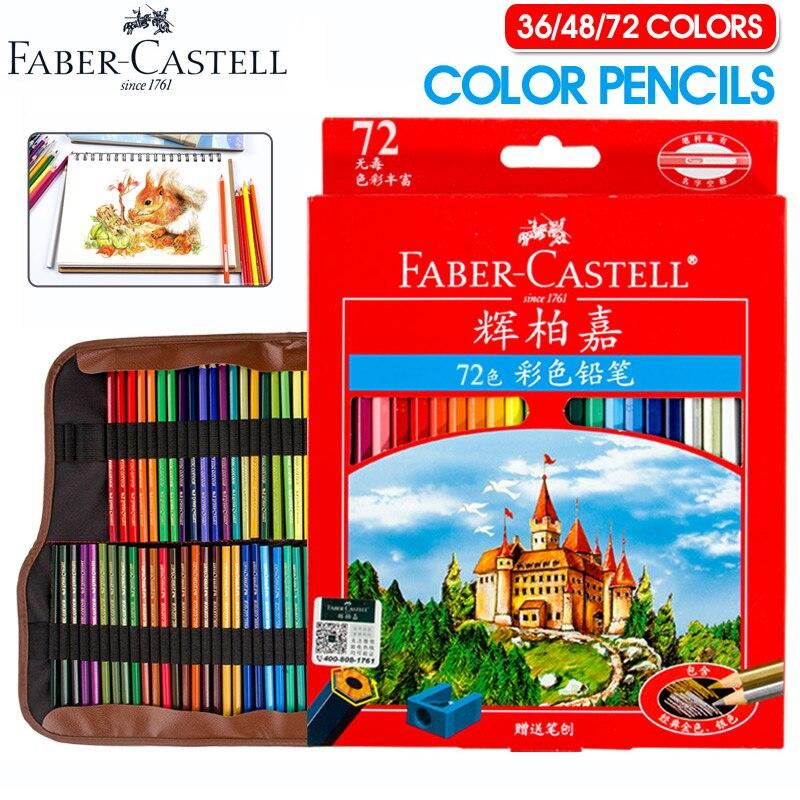 Faber Castell 72 Colored Pencils Lapis De Cor Prof...