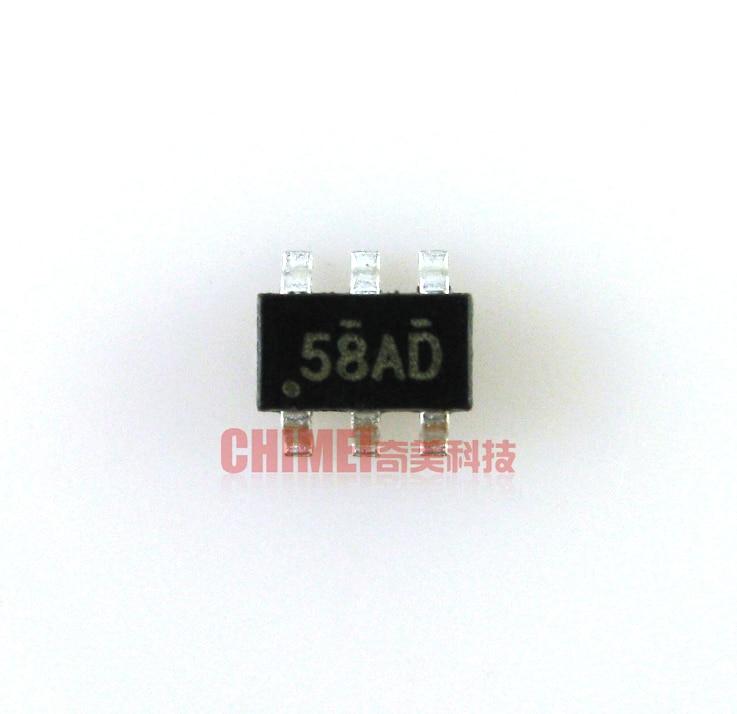 10pcs FDC658AP  SMD 6-pin Screen Printing 58AP 58A LCD Logic Board IC Chip