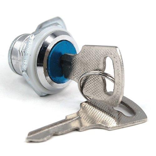 HGHO-High Quality Cam Locks Sweet Center Cam Lock For Door Cabinet Mailbox Drawer Cupboard+ Keys
