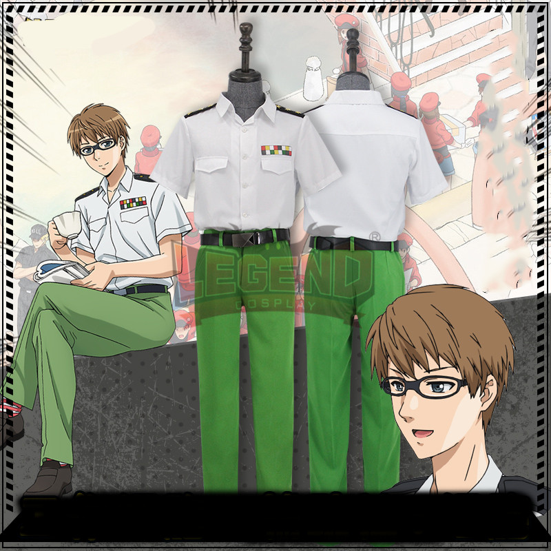 Anime Cells at Work Helper T Cell Cosplay Costume halloween costume outfit