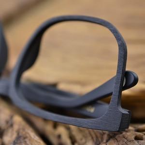 Image 5 - Hdcrafter 여성 남성 빈티지 레트로 나무 안경 프레임 처방 렌즈 안경에 대 한 대형 광학 안경 프레임