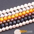 """Perla: 10-11mm Perla Natural de Agua Dulce Perlas Capítulo 15 """"Perlas Sueltas DIY Para la pulsera o collar Making Granos Al Por Mayor!"""