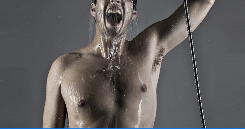 DCAN 10 Rainfall Shower Head System Polished Chrome Bath Wall Mounted Shower Faucet Bathroom Luxury Rain Mixer Shower Combo Set (26)