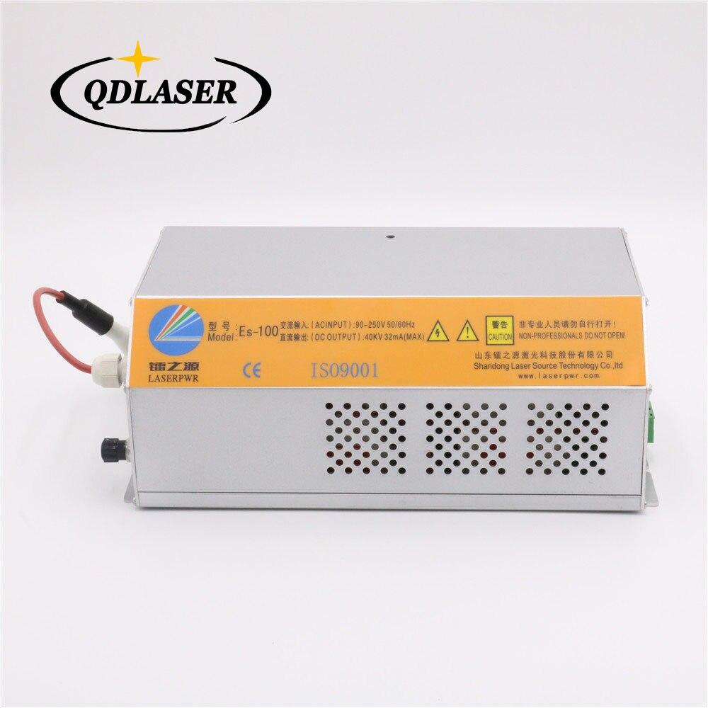 цена на HY-ES100 Co2 100 watt Laser Power Supply For 100w-120w Laser Lamp EFR Laser Tube