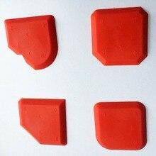 4 шт. в наборе герметик Бадди силиконовый скребок и силиконовый шпатель по OPP мешок, сделанные инструменты по выбору строителей Limited