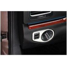 lsrtw2017 font b car b font headlight switch frame trim for volkswagen sharan 2011 2012 2013