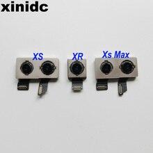 Xinidc задняя камера для iPhone 7 7Plus 8 8Plus X XS MAS XR задняя камера с гибкий кабель, сменные детали