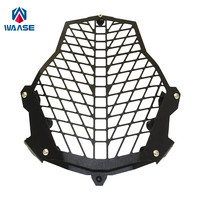 waase Headlight Head Lamp Light Grille Guard Cover Protector For KTM 1050 1090 1190 Adventure 1290 Super ADV